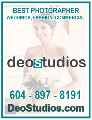 DeoStudios is the Best Photographer for Wedding, Fashion, and commercial Shoot in the Vancouver  ~ Best in BC